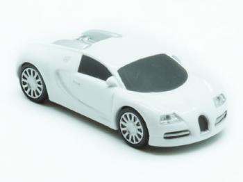 флешка  MemoryKing Bugatti Veyron (метал. корпус + вращающиеся колеса)