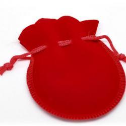 мешочек бархатный подарочный (красный, синий)