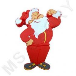 "флешка новогодняя ""Санта Клаус Спортсмен"""