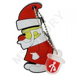 флешка новогодняя Дед Мороз из мультика