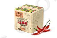 Набор для выращивания Экокуб (Красный перец)