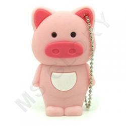 Флешка  Свинка земляная (символ нового 2019 года )
