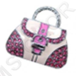 флешка сумочка со стразами + карабин